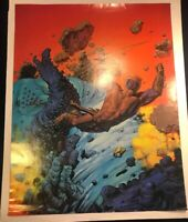 "Vintage 1975 Rich Corben Rare Poster #1314/2500  The Morning Star 21"" x 27"" P1"