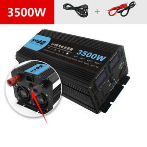 12/24V to 220V Power Converter Charger Power UPS Correction Wave Power Inverter
