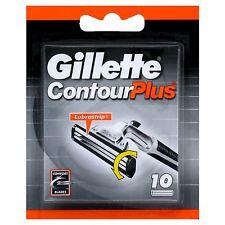 ORIGINAL GILLETTE CONTOUR PLUS 20 RAZOR BLADES -- 2 PACKS
