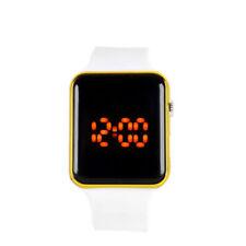 Reloj de Mujer Silicone Womens Sport Watch Digital Touch Bracelet Wrist Watches