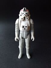 Rare Red Insignias AT-AT Driver Vintage Star Wars Figure!