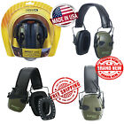 Howard Leight Impact Sport OD Electric Earmuff Green Sound Ear Protection New