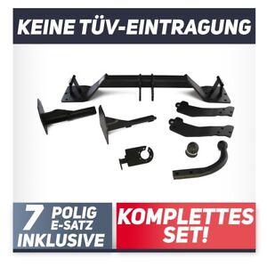 Für BMW X5 E53 00-07 Anhängerkupplung starr+E-Satz 7p