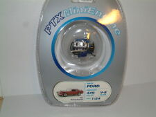 """1/24 PTX FORD 429 ci """"BOSS MUSTANG"""" ENGINE, FOR KIT UPGRADE,DIORAMA INC STAND"""