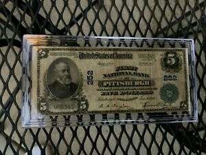 lot of 5 - US Bank Note set , $ 1 through $ 5's  see description for items