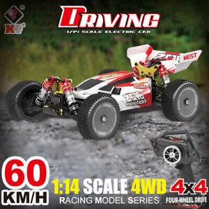 Wltoys XKS 144001 RC Car 60km/h High Speed 1/14 2.4GHz RC Car 4WD Racing Models