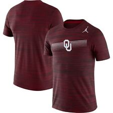 NWT! Mens Air Jordan Brand Oklahoma Sooners Velocity Legend Performance Shirt M