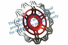 FIT YAMAHA XV 1700 PCR Road Star Warr 03>05 EBC VR Brake Disc Red Hub Front Left