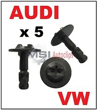 5 x AUDI VW VOLKSWAGEN UNDER ENGINE COVER PROTECTION SCREW