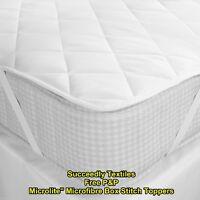 10 cm Thick Microfiber Mattress Topper Mattress Protectors / Topper All Size