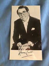 RONNIE CORBETT (THE TWO RONNIES) SIGNED PHOTO