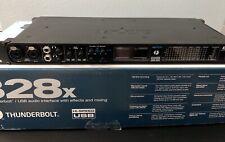 MOTU 828x Thunderbolt Audio Interface with USB