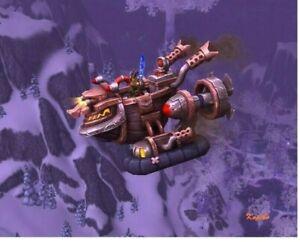 WoW Mount Xiwyllag-Flugfahrboot Reittier World of Warcraft