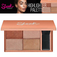 Sleek Makeup Face & Body Highlighter Duo Toned Glow Palette Copperplate