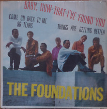"THE FOUNDATIONS - baby, now that i found you -rare israeli 7"" p/s EP-1967 pop NM"