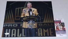 Bill Polian Bills Colts signed Hall of Fame 11x14 photo autographed W/ HOF 2 JSA