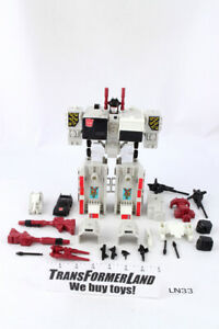 Metroplex 100% Complete Bases 1986 Vintage Hasbro G1 Transformers Action Figure