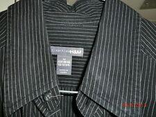 Gestreifte Figurbetonte Herren-Freizeithemden & -Shirts mit Krempelärmel-Ärmelart aus Baumwolle