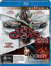 Open Graves / 100 Feet - Horror - NEW Blu-Ray