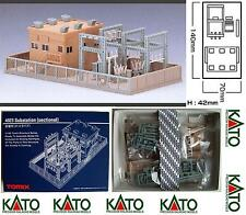 KATO By TOMIX 4023 KIT CENTRAL électrique COMPLET Cm.14x7 AVANT COULEUR