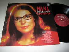 NANA MOUSKOURI Love Goes On PHILIPS NM/MINT! Canada Pressing