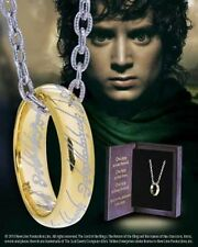 Lord of the Rings The One Ring in Sterling Silver with chain  A Precious thing