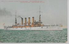 US armored crusier Pennsylvania military battleship antique pc (Z9297)
