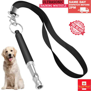 Dog Training Whistle Puppy Adjustable Ultrasonic Obedience Stop Barking Pitch