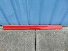 CHEVROLET XTREME S10 EXTREME EX-CAB ROCKER SKIRT PASSENGER SIDE RED 15034714