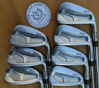 PING S55 Irons - 4 - PW - PROJECT X 5.0 RIFLE SHAFTS - YELLOW DOT