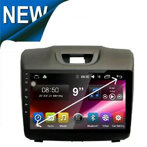 For ISUZU MU-X 2012-20 GPS ANDROID AUTO WIRELESS APPLE CARPLAY 4X4 MAPS TPMS DAB