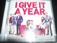 I Give It A Year Original Motion Picture Soundtrack CD - New