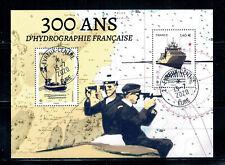 2020 300ANS D'HYDROGRAPHIE OBLITERE CACHET ROND 13-7-2020