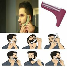 BEARD SHAPING TOOL - Template, Shaper, Stencil, Symmetry, Trimming, Comb, Barber