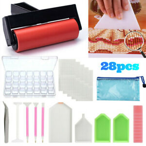 d/&a Diamond Painting Accessories Cross Stitch Embroidery Mini Desktop Vacuum Cleaner Small Cleaning Machine Clean Excess Drill Tool Kits