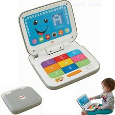 Kids Toy Laptop Baby Toddler Computer Fisher Price Learn Smart Home Fun Boys