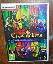 CrownTakers (PC/MAC/LINUX/DVD, 2014) Free Shipping!