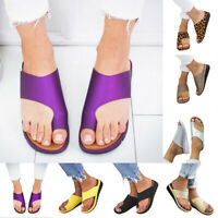 Women Comfy Platform Sandal Shoes - Bunion Corrector - PU LEATHER-Free Shipping