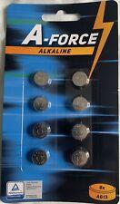 A-FORCE AG 3/LR41/LR736/392 1.5V Pile Bouton Alcaline - Pack de 10