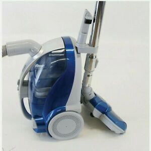 Kenmore 10701 Bagless Compact Canister Vacuum with Turbine Brush Silver Blue