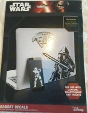 STAR WARS Gadget Decals 15 removable decals, mac, iPhone, laptop, mobile