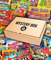American Candy Gift Box mystery Hamper USA Sweets Chocolate | UK Sweets Selected