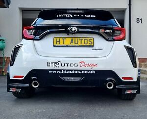 Toyota Yaris GR 4 Rear Bumper Vents / Ducts. Designed By HT Autos UK