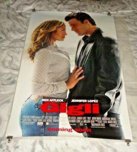 Gigli Original US One Sheet Movie Cinema Poster 2003 Ben Affleck, Jennifer Lopez