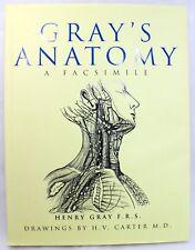 Grays Anatomy: A Facsimile, Gray, Henry, Grange Books Ltd, 2001