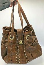 Gretta Purse/Handbag Medium Brown Colored Double Hand/Arm Strap