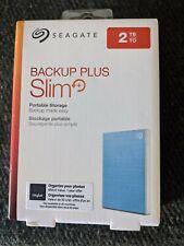 SEAGATE 2TB BACKUP PLUS SLIM USB 3.0 EXTERNAL HARD DRIVE (ENCLOSURE ONLY NO HDD)