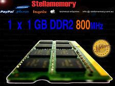 Toshiba Satellite  1x 1GB DDR2 800mhz memory Laptop Ram