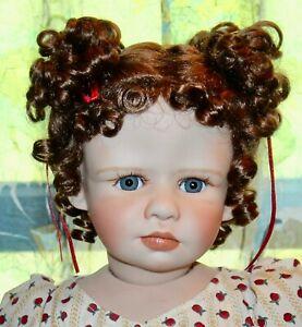 KAYE WIGGS Boxed Porcelain Doll CATHERINE Artist International 285/2500 Lot J