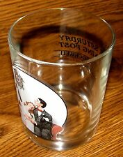 """Saturday Evening Post/Norman Rockwell """"COURTING AT MIDNIGHT"""" Collector Glass"""